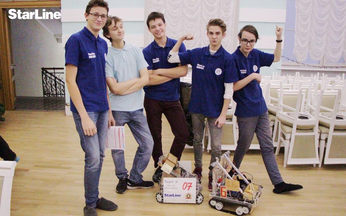FTC: Робототехники StarLine — на высоте!