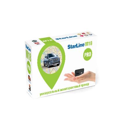 Универсальный мониторинговый трекер StarLine M18 pro вобрал в себя наилучшие свойства и характеристики мировых аналогов<br /> в качестве стандарта.</p> <h3>3 950 Р</h3> <p>