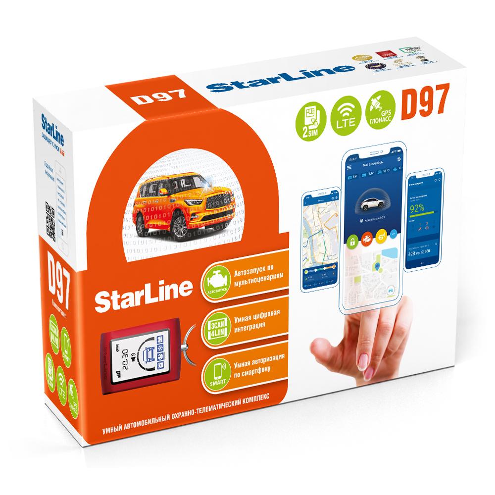 Лучшее предложение для cовременных внедорожников – новый умный охранно-телематический комплекс StarLine D97 LTE GPS.