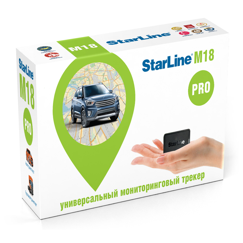 Умный и самый доступный трекер на платформе 6-го поколения — StarLine М18.